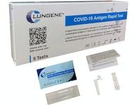 Clungene COVID-19-Antigentest - Nasal für die Eigenanwendung - BfArM Aktenzeichen 5640-S-168/21 (5-er Verpackung)