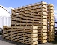Verschläge aus Holz