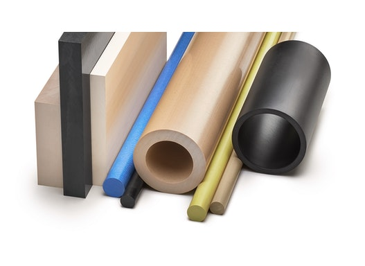 Kunststoffverarbeitung_Kunststoffbearbeitung_Technische KunststoffeRundstäbe POM, PA, PE, PE, PEEK, PTFE, PVC, PP