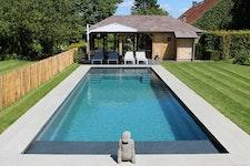 GFK-Pool Tranquility mit Splashdeck