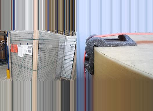 Kantenschutzwinkel zur Ladungssicherung