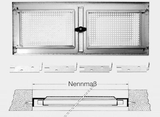 Stahlkellerfenster (ein- und zweiflügelig)