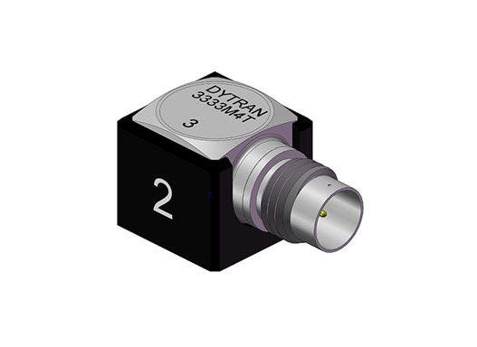 Low Noise Beschleunigungssensoren mit TEDS: 3333MxT-Serie