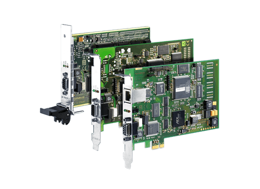 DF PROFI II – PROFIBUS DP/ DPV1 Baugruppe in den Varianten PCI/CPCI/PCIe