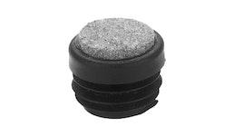 Bodengleiter, Rohrstopfen für Rundrohr Typ GLF / Ø 18 - 32 mm