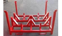Transportgestelle für Kunststoff und lackierte Teile.