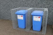 Gabionen Mülltonnenboxen