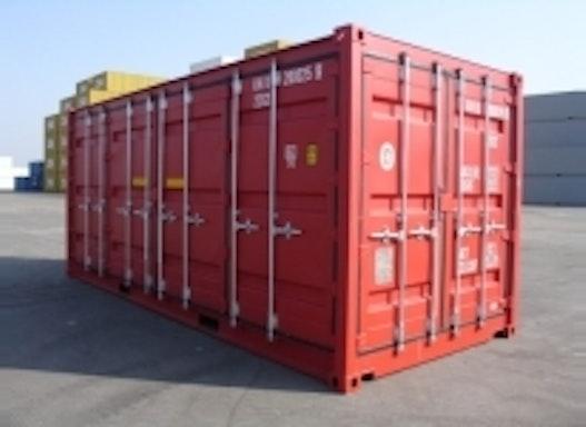 20´- Double-Side-Door-Container - fabrikneu