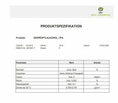 ISOPROPYLALKOHOL Isopropanol  -  2-Propanol