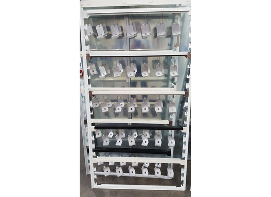 Aufhängesystem PBA für eine optimierte Auslastung Ihrer Pulverbeschichtungsanlage