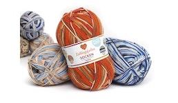 Lieblingsfarben Sockenwolle