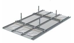 Montagedienstleistung: UPONOR Thermatop M Deckenkühlsystem