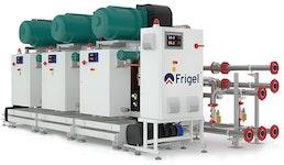 Wasser- oder luftgekühltes Kaskadenkühlsystem: MultiStage - MSW/MSA