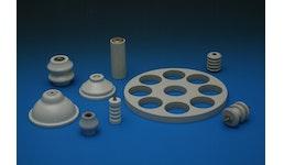 Keramik aus Porzellan und Steatit