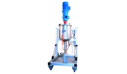 ViscoTreat-R/Aufbereitungssystem und Zuführsystem/Produktversorgung/Vorbereitung des Mediums durch Rühren u. Zirkulieren