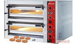-Breit- Pizzaofen 6+6 x 35 cm Ceylan Analog