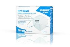 FFP2 Schutzmasken von Hygisun in weiß. Schutz vor COVID-19