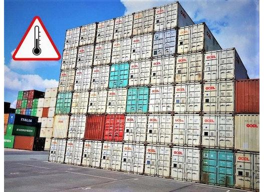 Temperatur kontrollierte Container Transporte von ICLS