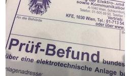 Anlagenbuch / E-Check