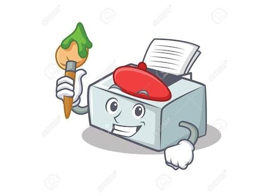 Drucker Toner und Ersatzteile bedarf Original. Bürobedarf Schreibwaren