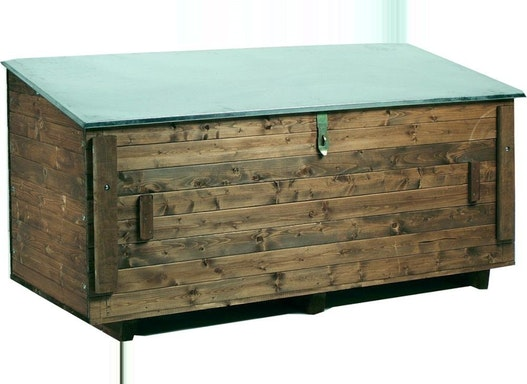 Fahrzeugbox Holz Inh.750 l, 1840x800x900mm