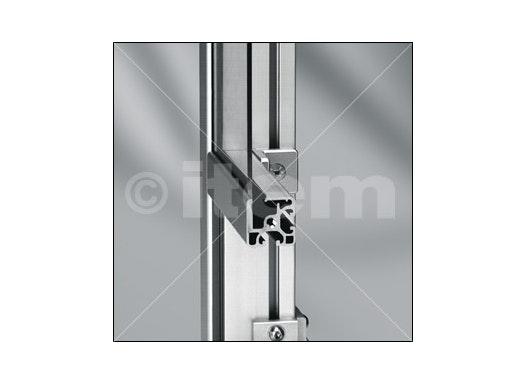 Klemmprofil 8 40x40-180° leicht, natur