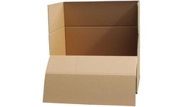 Logitainer, 3-welle, Einkomponentenverpackung, Container verbunden mit Palette, Palette 800 x 1200 mm
