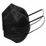 Atemschutzmaske FFP2 (schwarz)
