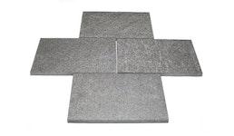 Basaltplatten als Terrassenbelag
