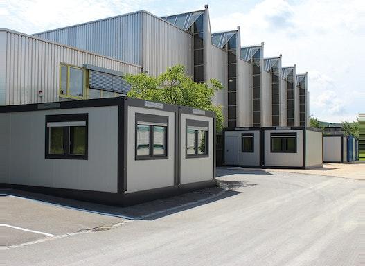 Büromodule und Bürocontainer - flexible Container und Containergebäude für den Außenbereich