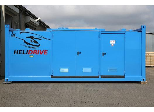 MINOTAUR® Tankstellencontainer als Helikoptertankstelle