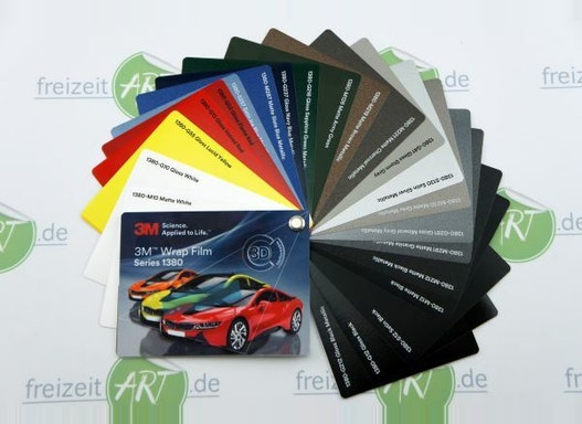 3M™ Wrap Folie Serie 1380   Car Wrapping Folie