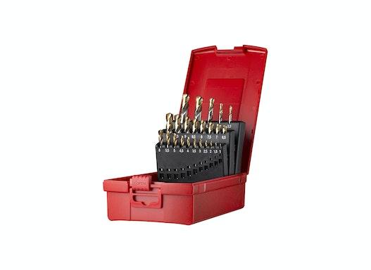 Dormer A088 Spiralbohrer Set 1,0-10,5mm +Kernbohrer 24 teilig