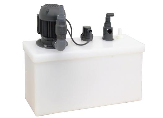 Solehebeanlage SW13, Abwasser-Hebeanlage für Sole / Abwasser von Enthärtungsanlagen