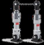 Hydraulikzylinder mit Einbaumaßen gemäß DIN 24336 oder DIN ISO 6020/6022
