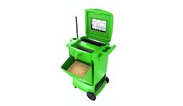 OilBoy - die mobile Ölbindestation die lagert, verteilt, sammelt und recycelt