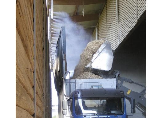 NEBOLEX Umwelttechnik - Staubbindung / Staubbekämpfung durch Wasservenebelung mit Staubbindeanlage / Staubbindemaschine