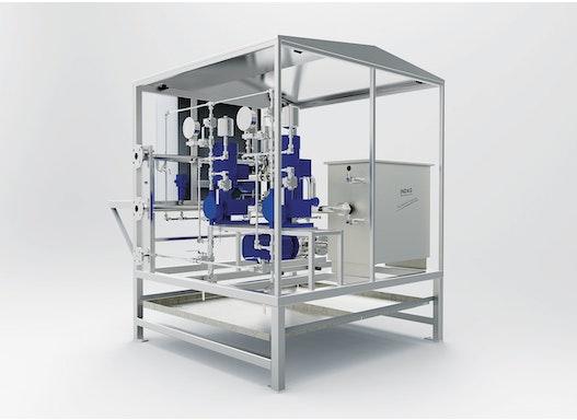 INDAG Polymerlösestation FlowMix® MD NONFOOD