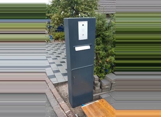 Briefkastensäulen / Briefkasten