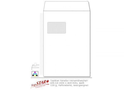 TopStar Fensterversandtaschen DIN C4 HK