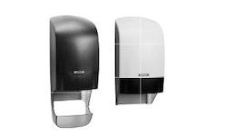 Katrin System Toilettenpapierspender mit und ohne Hülsenfänger