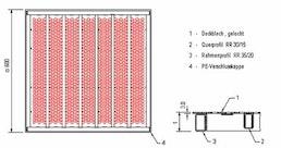 Stahllüftungsplatten TOPfloor airflow