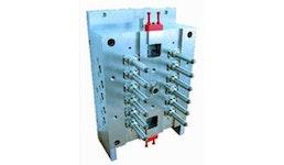 Kaltkanal- System für die LSR- Verarbeitung (Liquid Silicone Rubber / Flüssig- Silikon- Kautschuk)