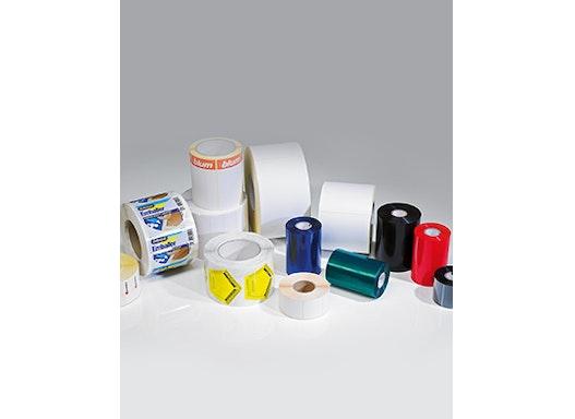 Farbbänder für Barcode-Etiketten-Drucker