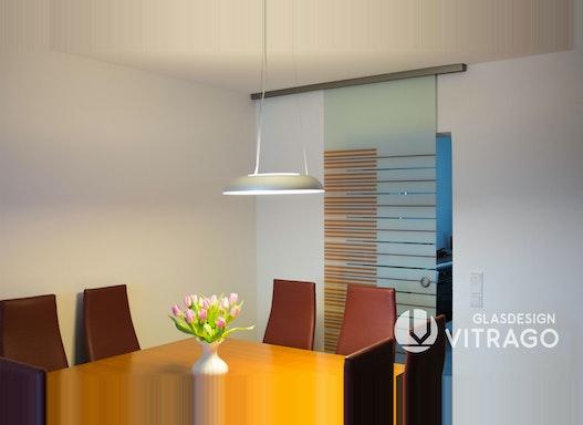 Satinierte Tür & Schiebetür aus Glas - Glastür, Glasdrehtür, Glasschiebetür, Ganzglastür nach Maß für innen & außen