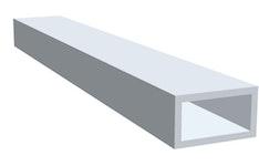 Aluminium Rechteckrohr
