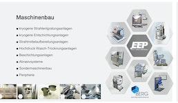 unser Maschinenprogramm / our machine range / notre gamme de machines