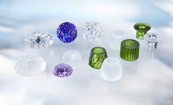 Glasgriffe für Badarmaturen