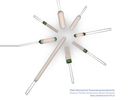 Platin-Temperatur-Sensorelemente