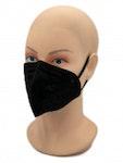 Atemschutzmaske FFP2 NR | MediaSANEX | schwarz | 25 Masken pro Packung | im 1er Beutel